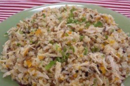 arroz-com-cenouras-e-frango