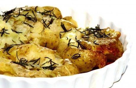 Receita de Batatas-ao-murro