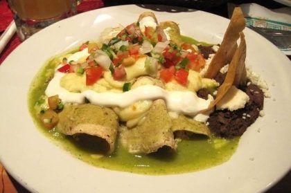 enchilada-verde