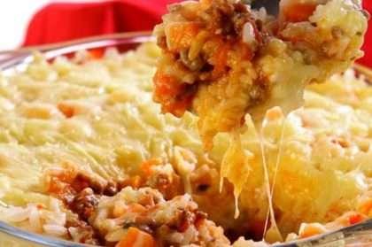 arroz-forno-carne-moida