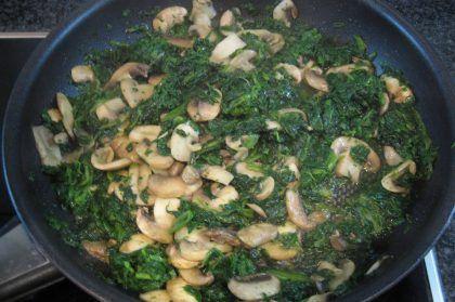 Receita de Almondegas-Aromaticas-com-Espinafres-Cogumelos