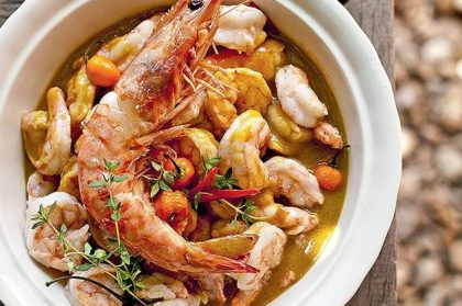 camarao-com-curry