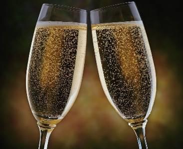 Receita de A Champagne Cheers!