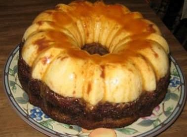 flan-de-chocolate-com-creme-ingles