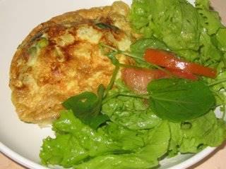 omelete-com-ervilhas