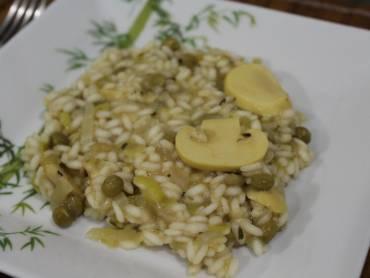 risoto-de-ervilhas-e-champignons